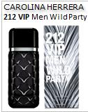 212 VIP Men Wild Party Carolina Herrera