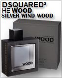 He Wood Silver Wind Wood Dsquared2